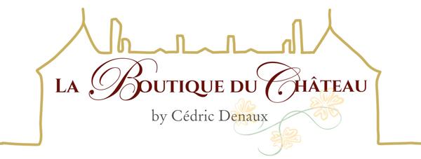 Logo boutique, hôtel de charme auvergne, Château d'Ygrande